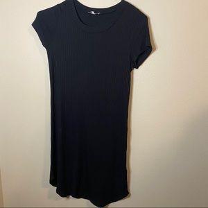 Women's ribbed t shirt dress